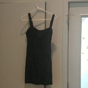 Free People hook eye little black dress